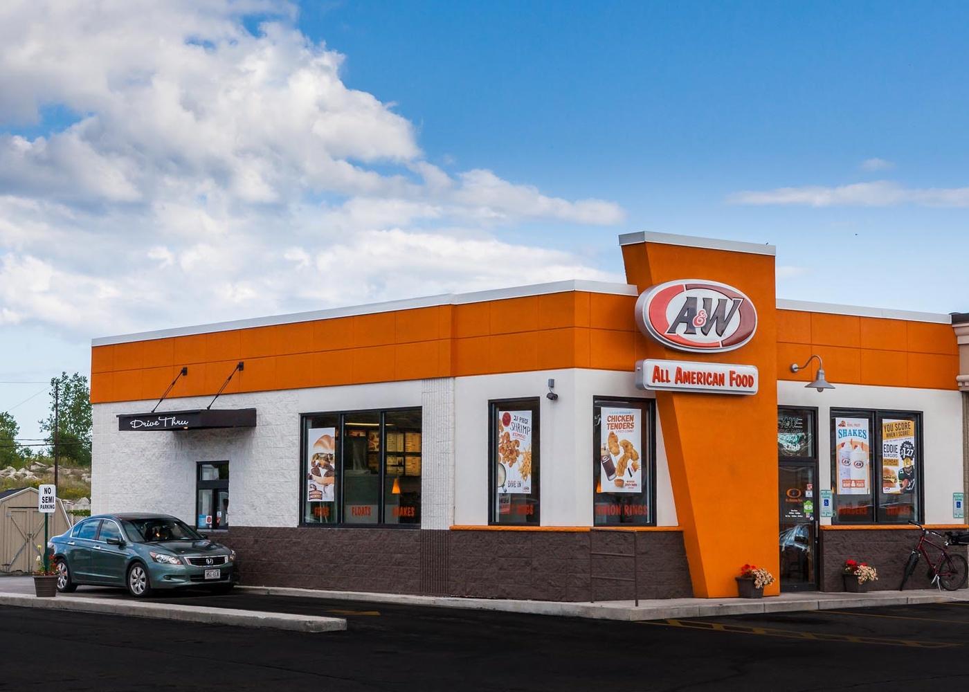 A&W Restaurant Drive-Thru