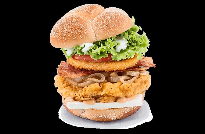 A&W® Cream Cheese Chicken Burger